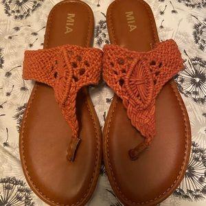 MIA crochet sandals